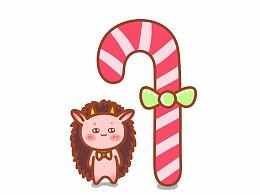 凑个热闹,圣诞快乐。 #姜小姜漫画# 