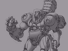 【原创 多图】游戏《Atlas reactor》角色设计