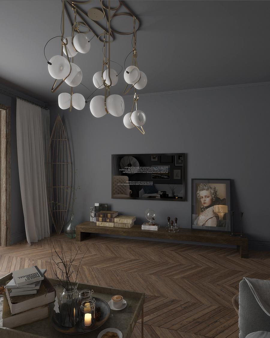 住宅室内设计方案-北欧风格