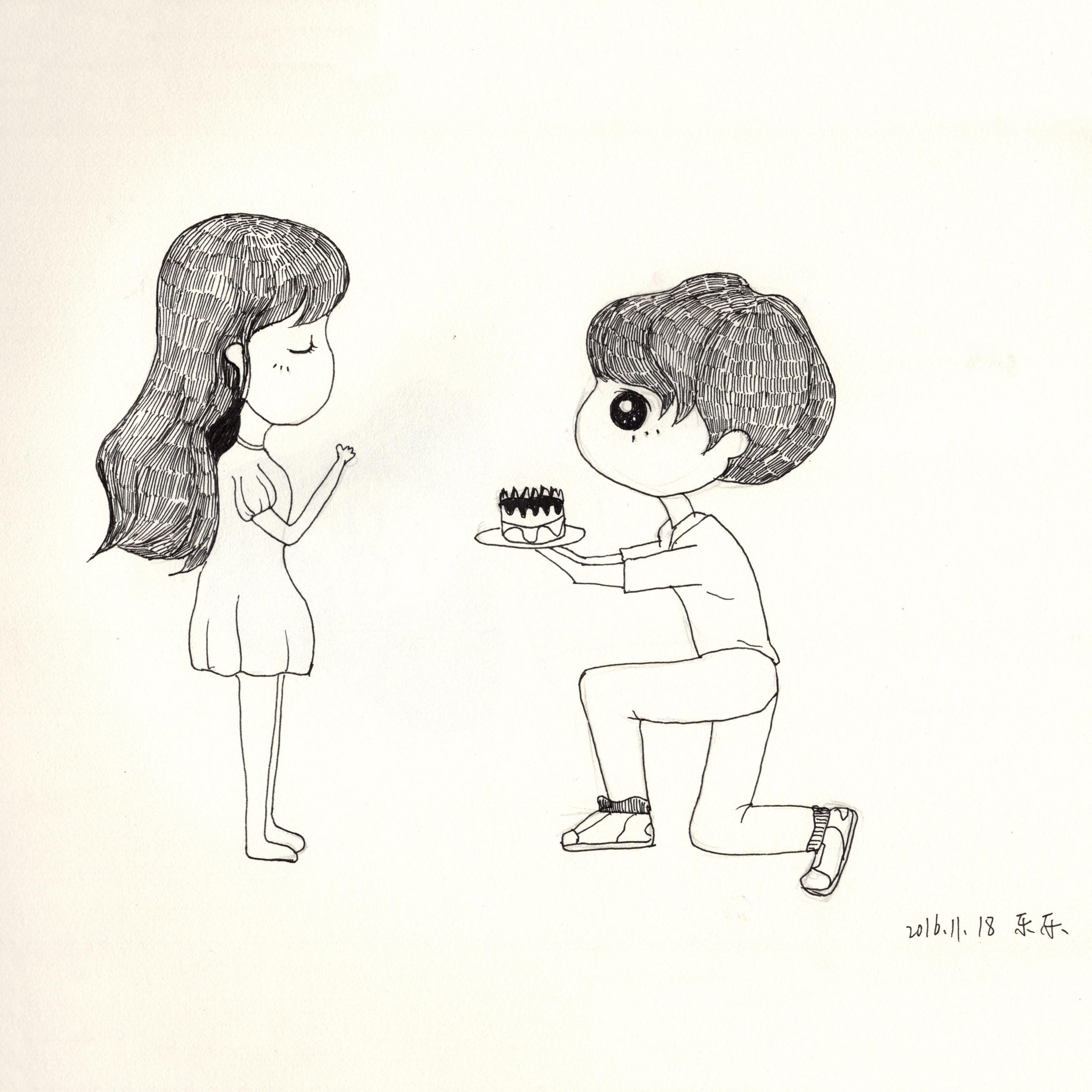 手绘-人物篇|插画|其他插画|乐幽子 - 原创作品