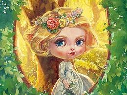 【画娃娃】阳光森林