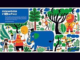 三木&艺术家田东明共创 三木森林系列儿童卡通文具