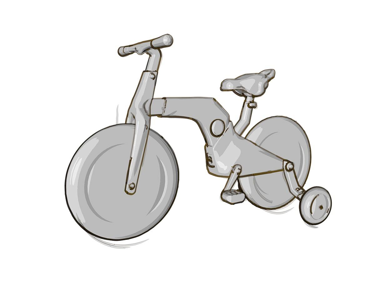 atom儿童自行车设计|工业/产品|交通工具|magic威