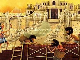 绘本—埃及十灾