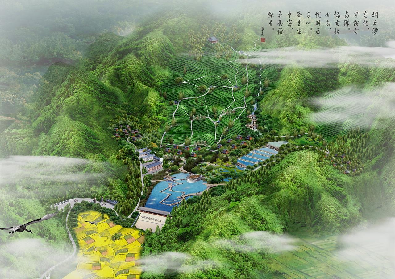 生态农庄|空间|景观设计|灯下故人 - 原创作品 - 站酷图片