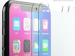 iPhone X钢化玻璃-亚马逊