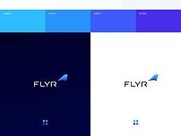 Flyr視覺識別和行銷網站