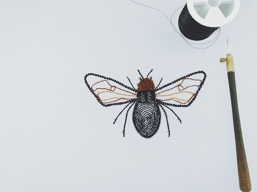 昆虫彩泥手工制作大全蜜蜂