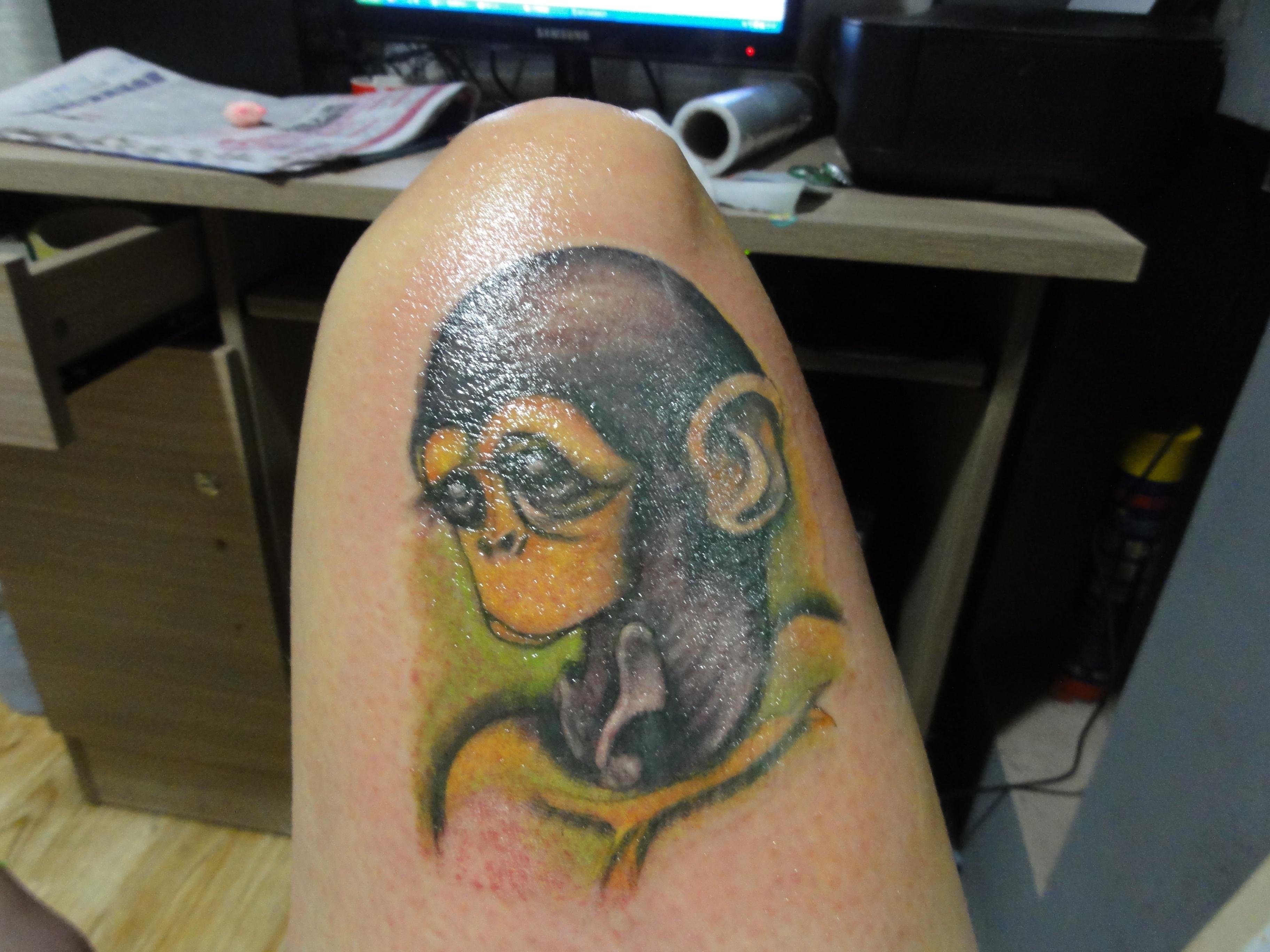 大庆纹身最近作品