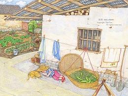 绘本《我和祖父的园子》(四,完结)