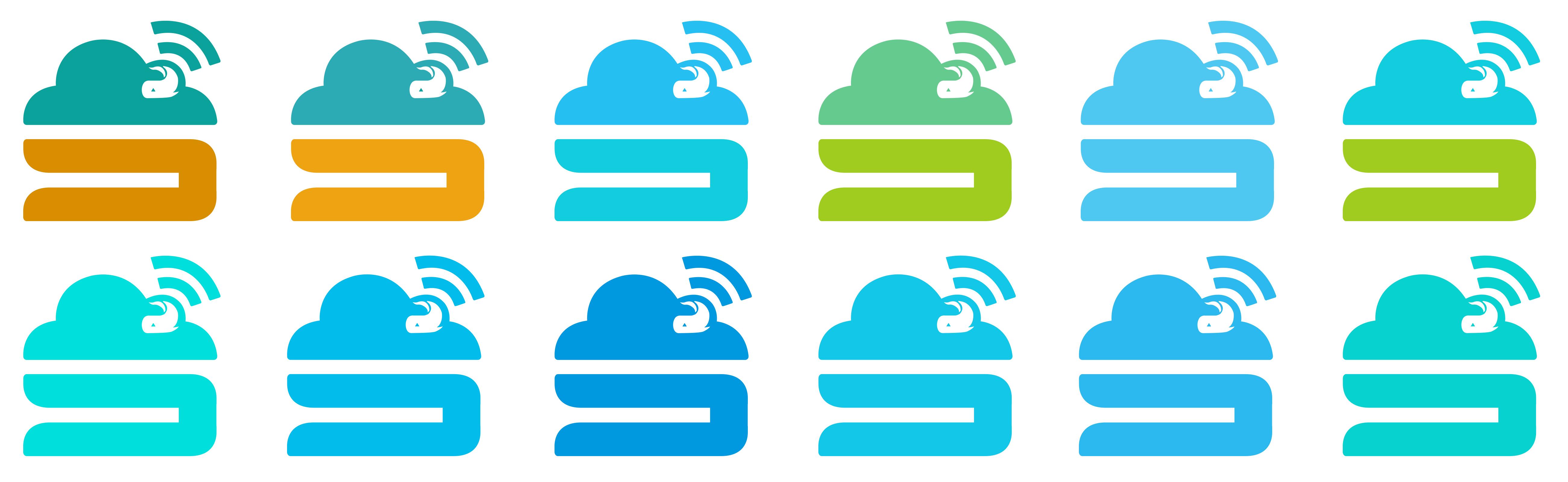 一个智能家居logo设计图片