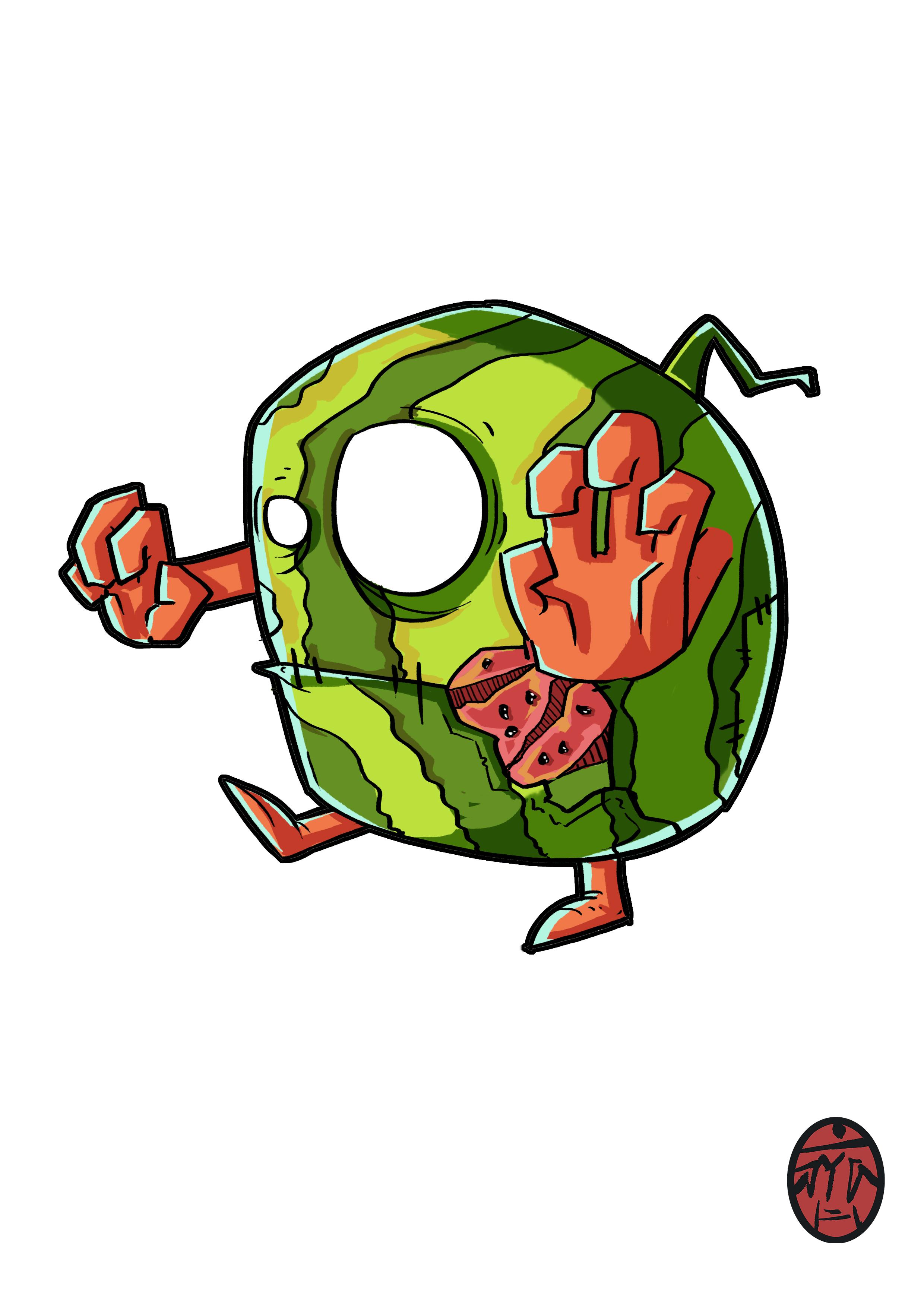 水果 蔬菜 卡通形象设计