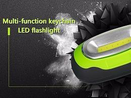 钥匙扣手电,LED,详情,户外应急灯,便携