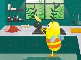 故事绘本-小蜜蜂和狐狸