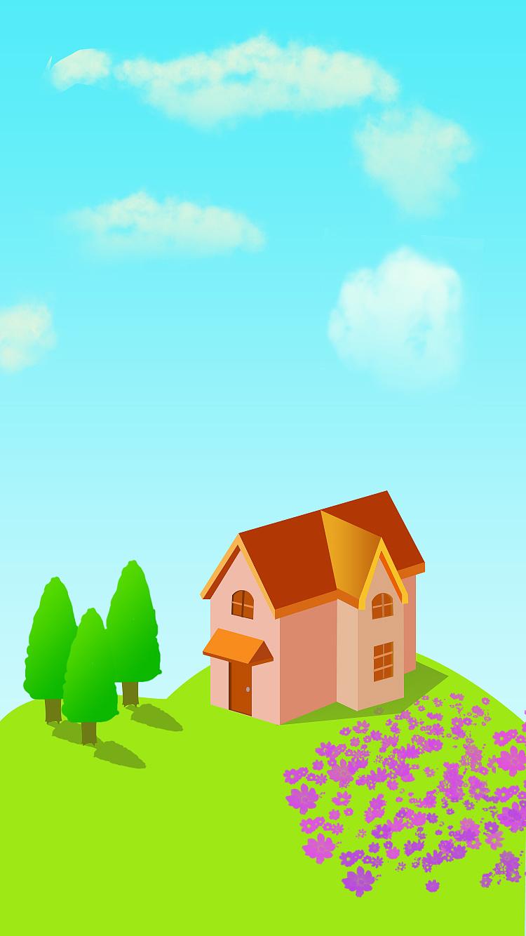 温馨小房子