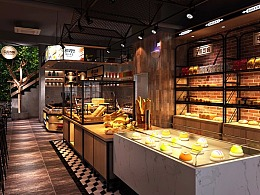 北京—牛克西姆蛋糕店设计