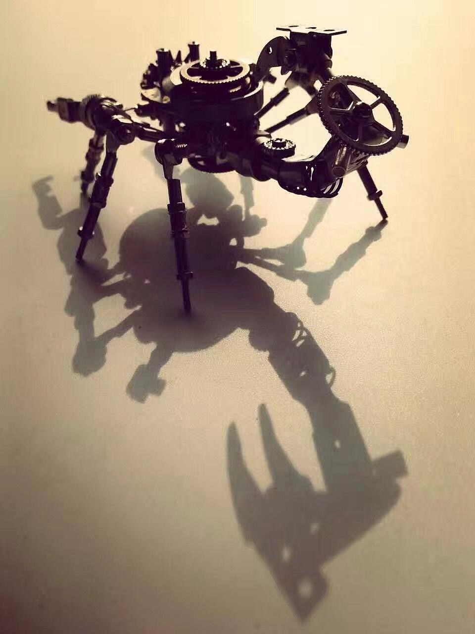 彩泥手工制作大全蝎子