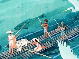 舟 船 筏