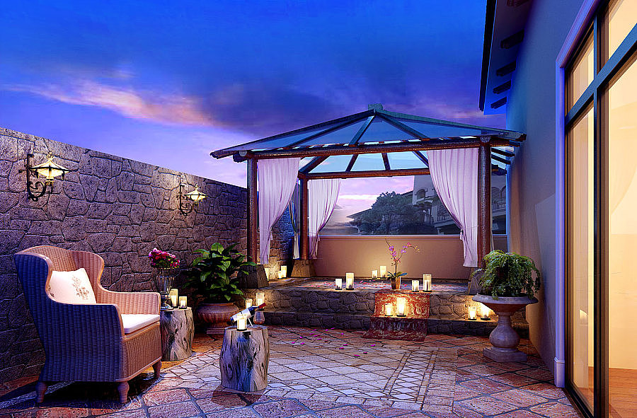 内江地中海别墅别墅设计-内江风格设计那别墅图片法式庭院图片