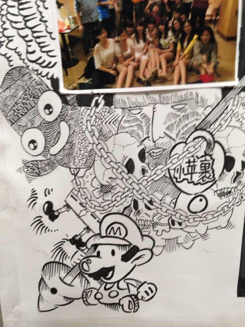 黑白手绘海报|平面|海报|喵姆 - 原创作品 - 站酷