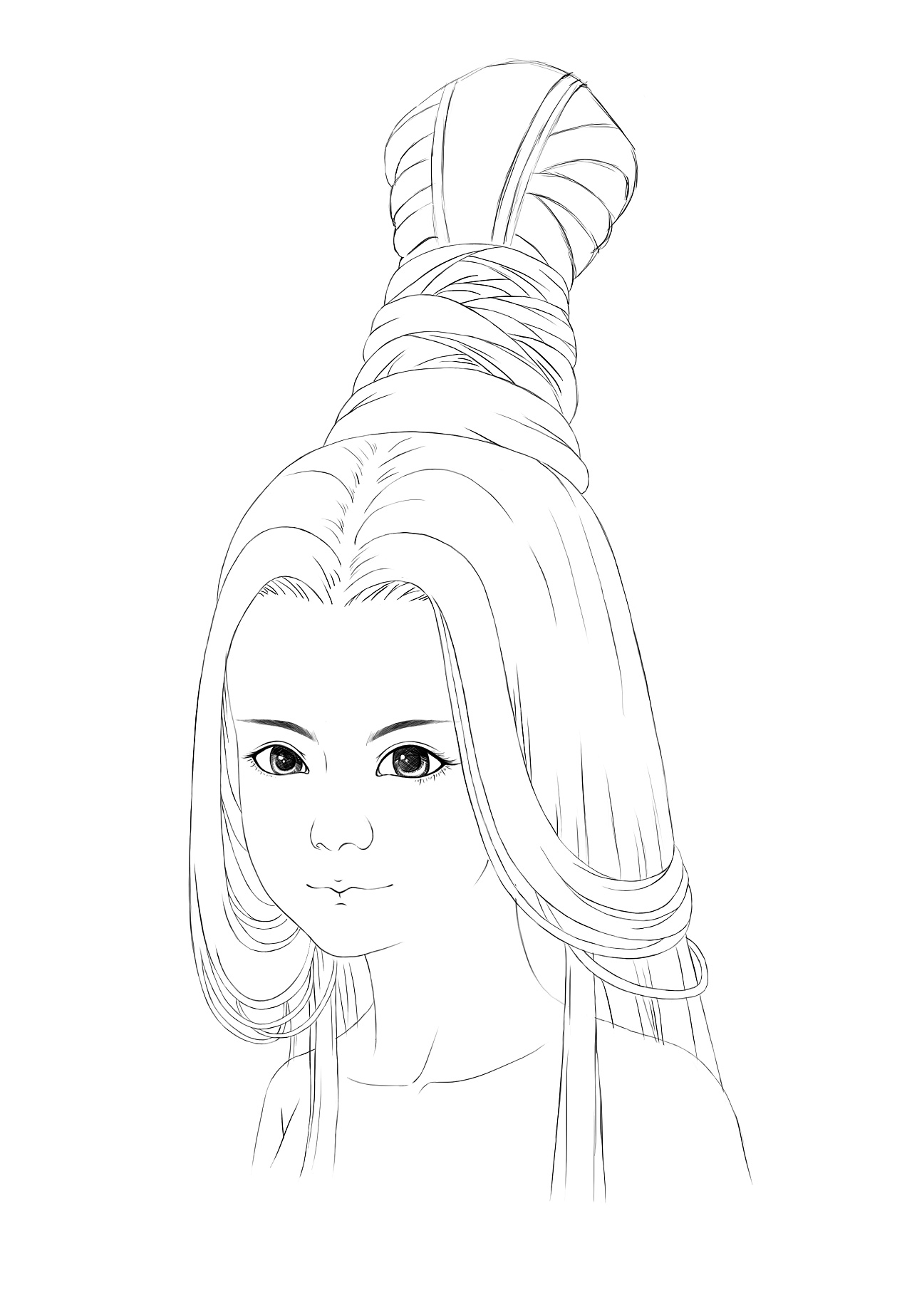 古代女子发型