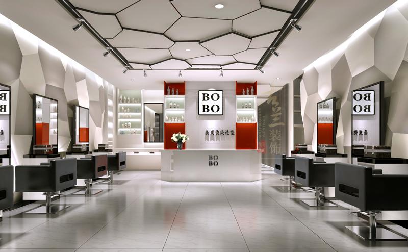 设计公司|成都理发店装修公司|成都理发店设计公司|理发店装修效果图