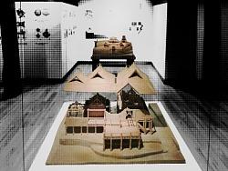 景迈山布朗族建筑模型