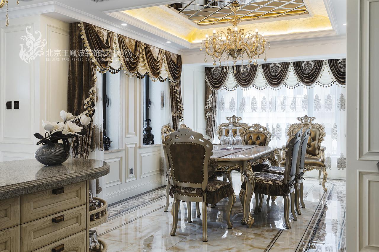 乌兰浩特470平米碧桂园欧式别墅设计图片
