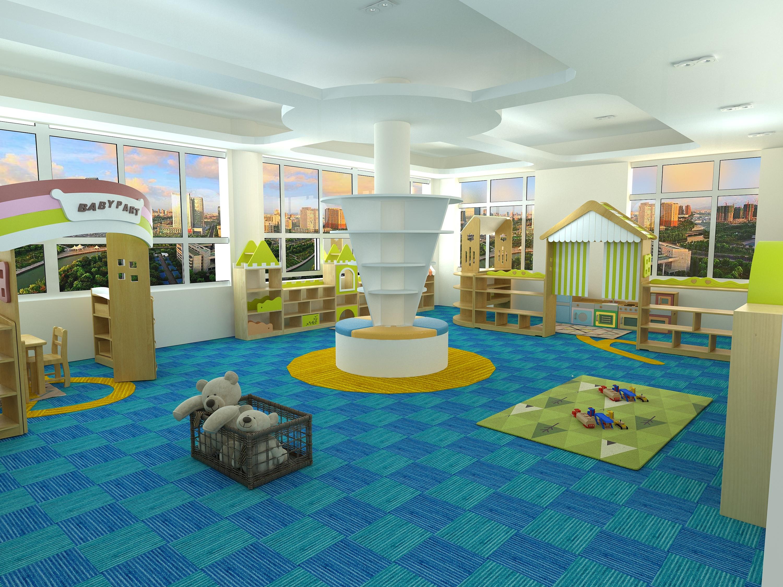 幼儿园教室|空间|室内设计|zmb12 - 原创作品 - 站酷