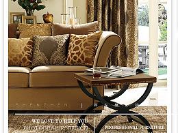 美式Style美式家具拍摄,乡村家具摄影,简美家具拍摄