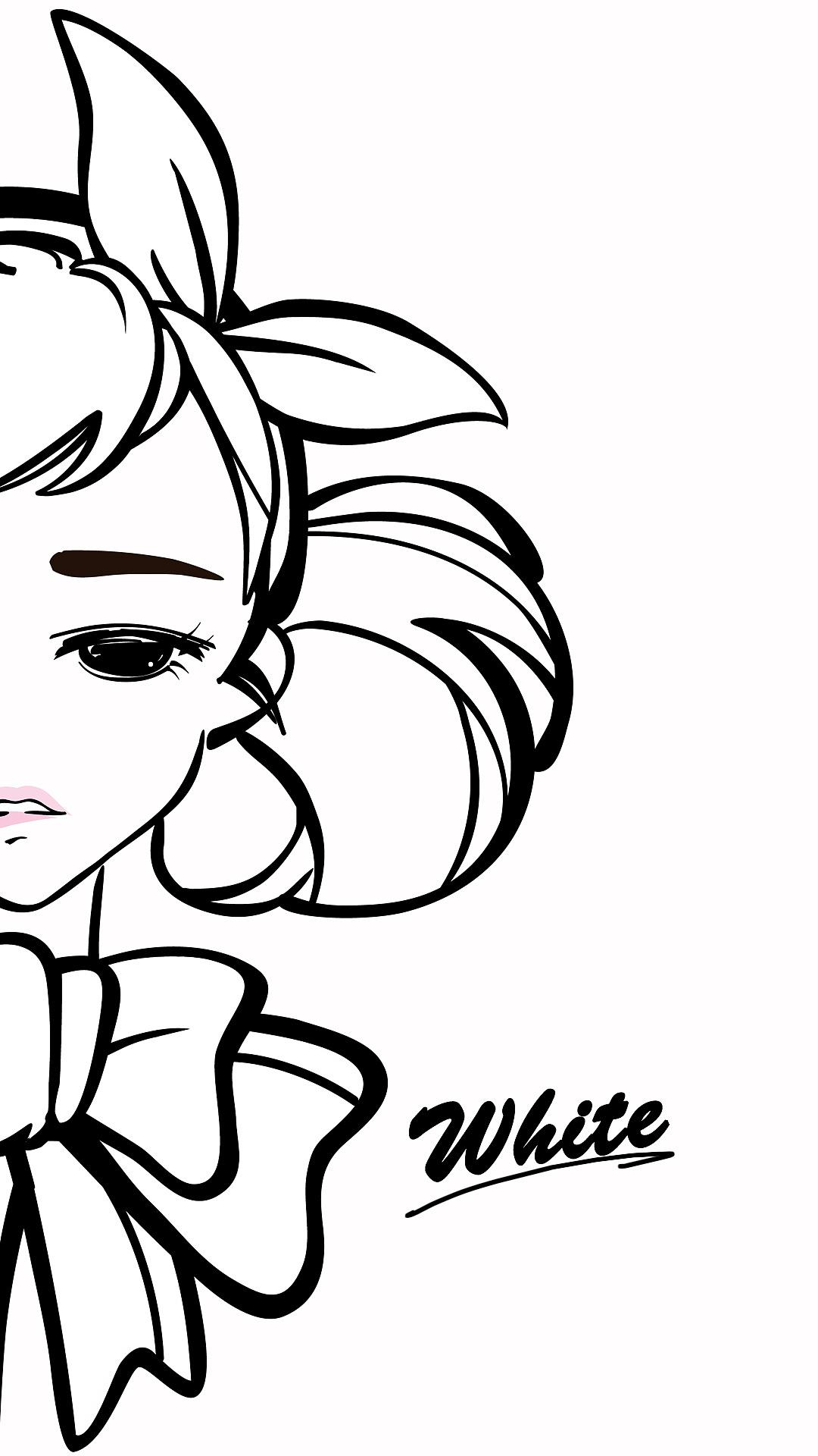 黑白忧伤|动漫|肖像漫画|梦梦稀mercy - 原创作品