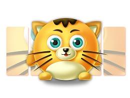 嘟嘟猫吉祥物设计