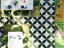 关于一个以绿色为主题的餐厅设计