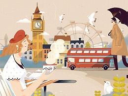 #致世界的明信片#伦敦