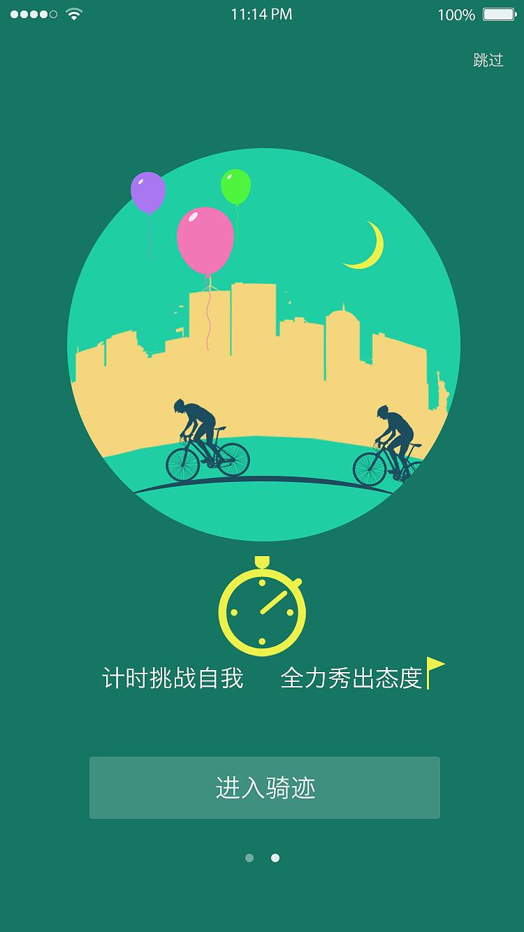 所以我们想要做这一款骑行的app来解决这些用户的需求.图片