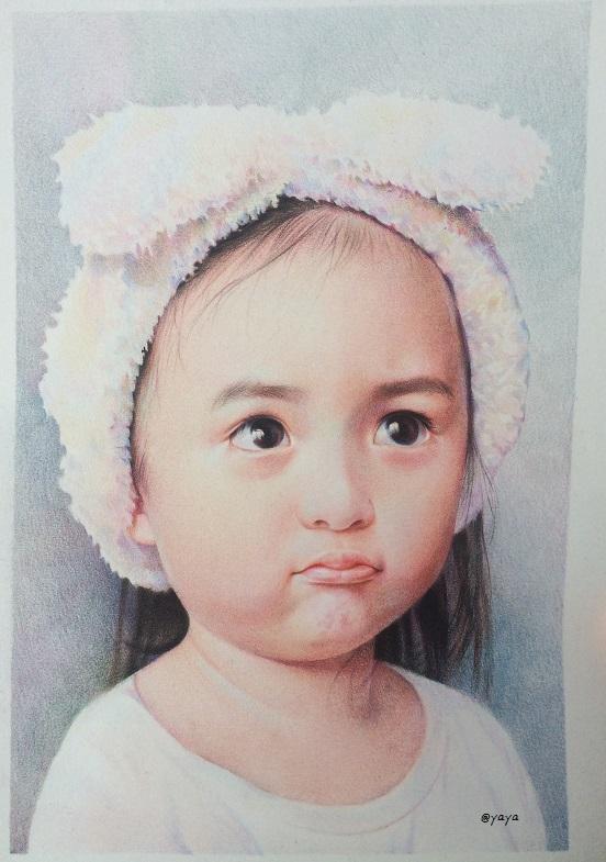小孩彩铅简笔画