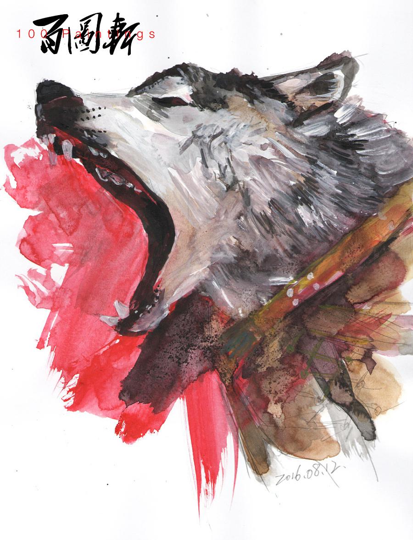 查看《百图斩|拟人化动物形象绘画》原图,原图尺寸:960x1258