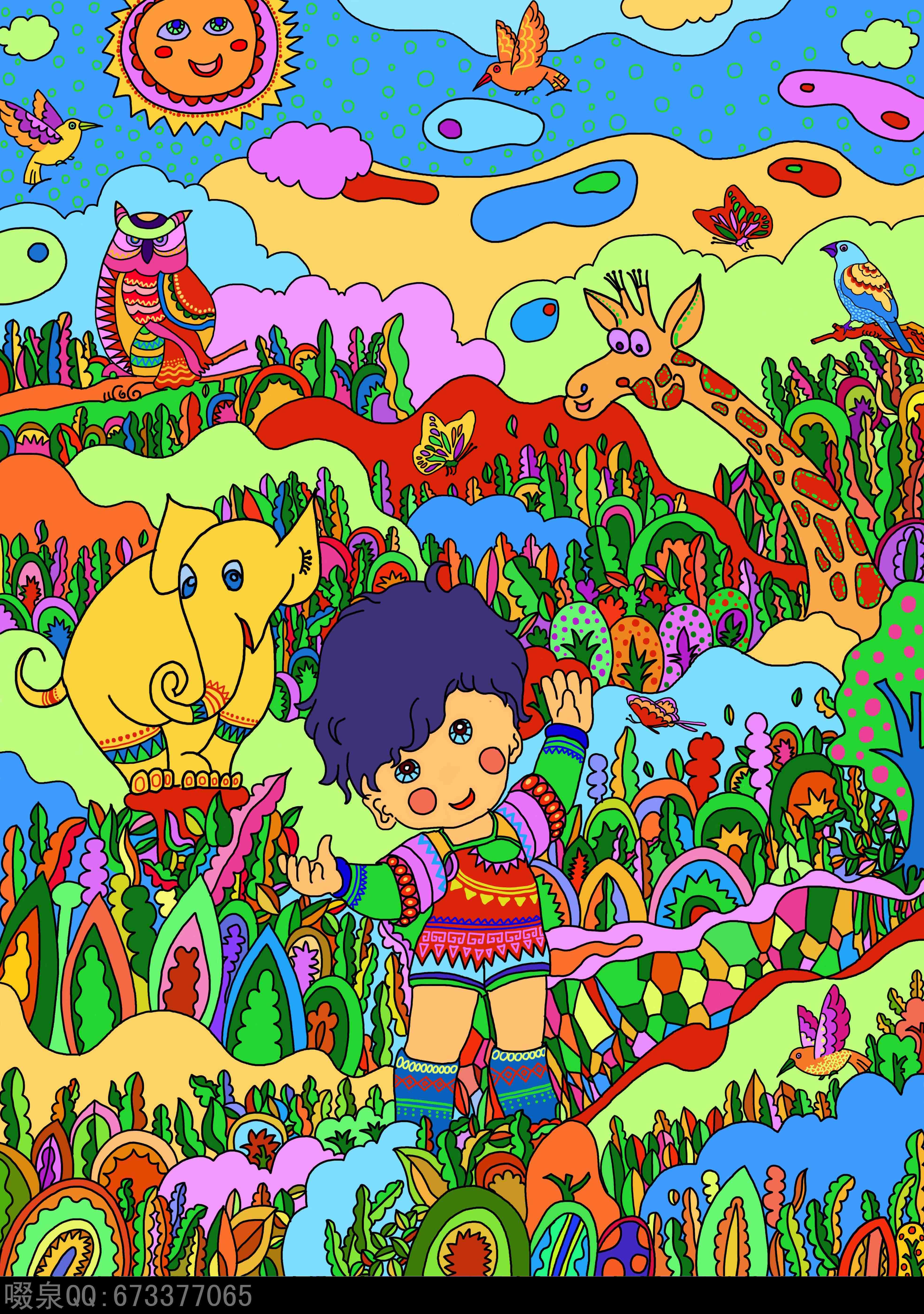我的原创插画 第三季|插画|其他插画|啜泉 - 原创作品图片