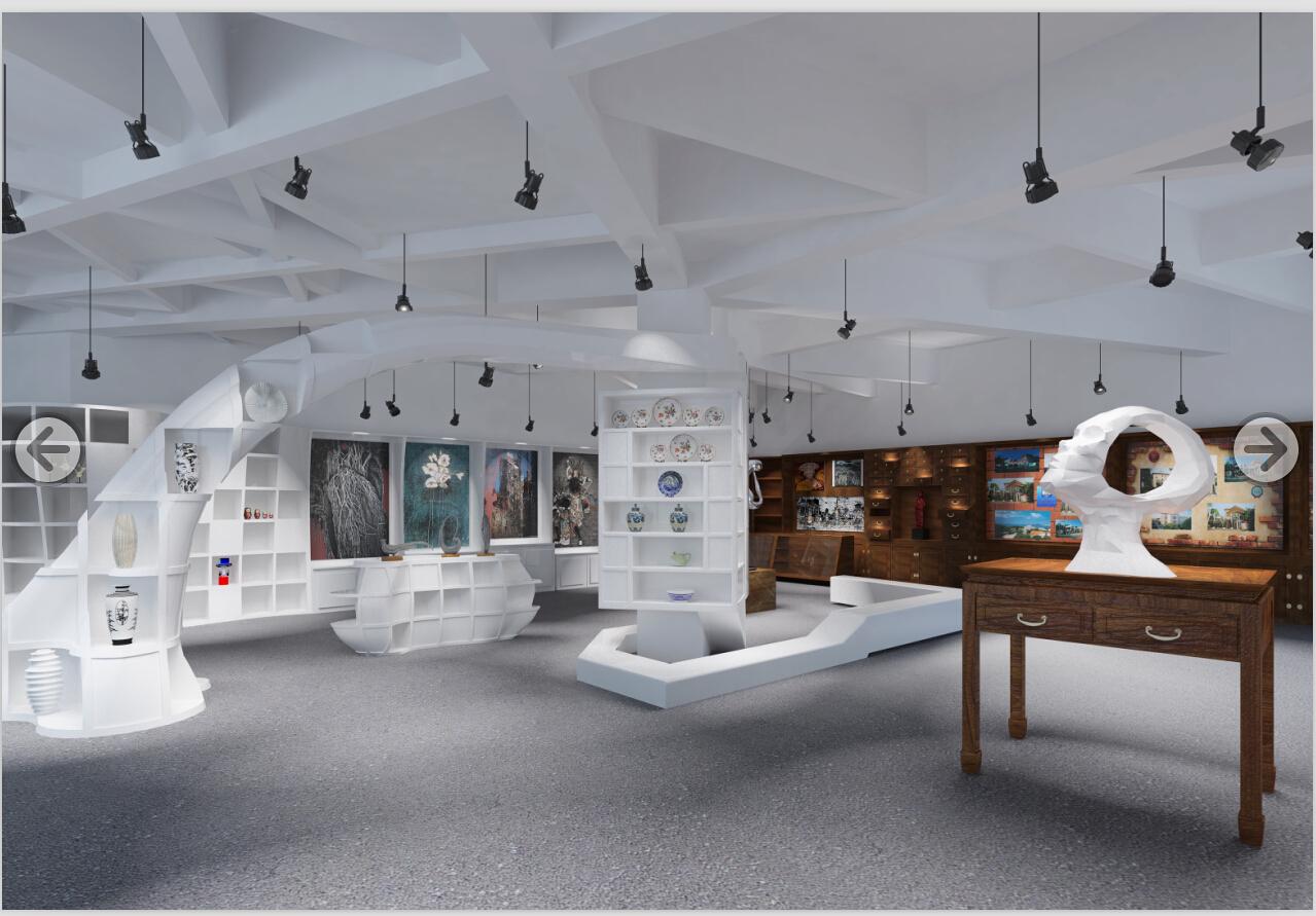 顺流与逆流——高校纪念馆展示空间设计图片