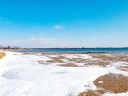 冬季秦皇岛的海