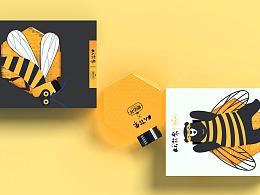 德佑祥蜂蜜插画包装