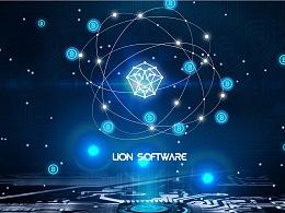原创作品:狮子软件品牌视觉logo设计提案