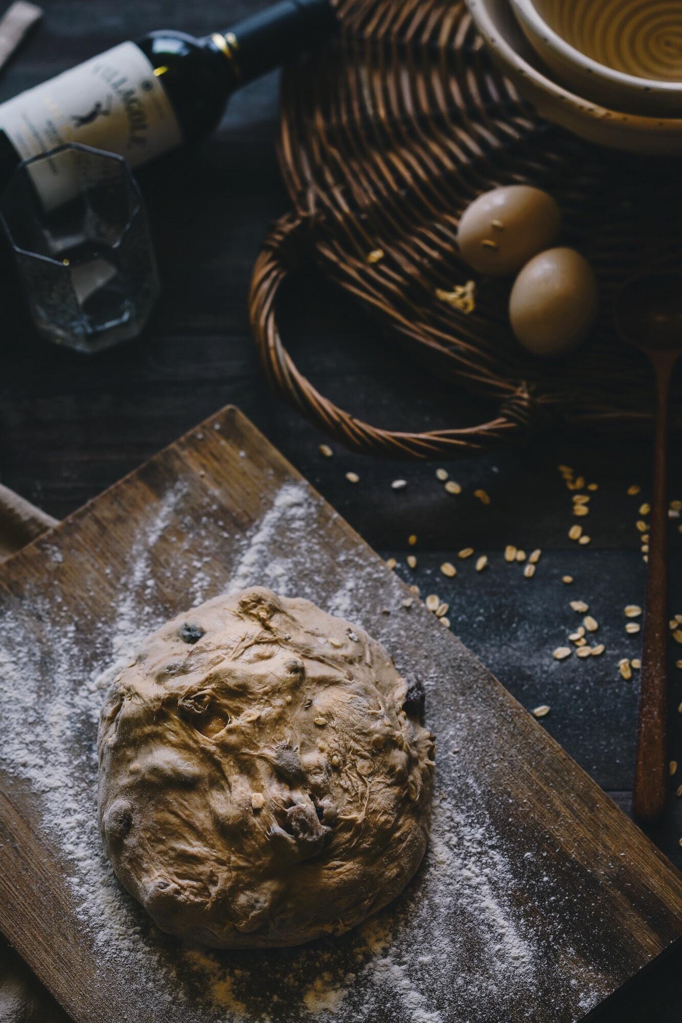 欧洲面包法式乡村面包美食 烘培 面包制作图片