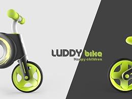 哈士奇设计作品 - 儿童平衡车