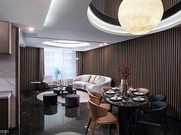 高品质样板房室内空间布光摄影