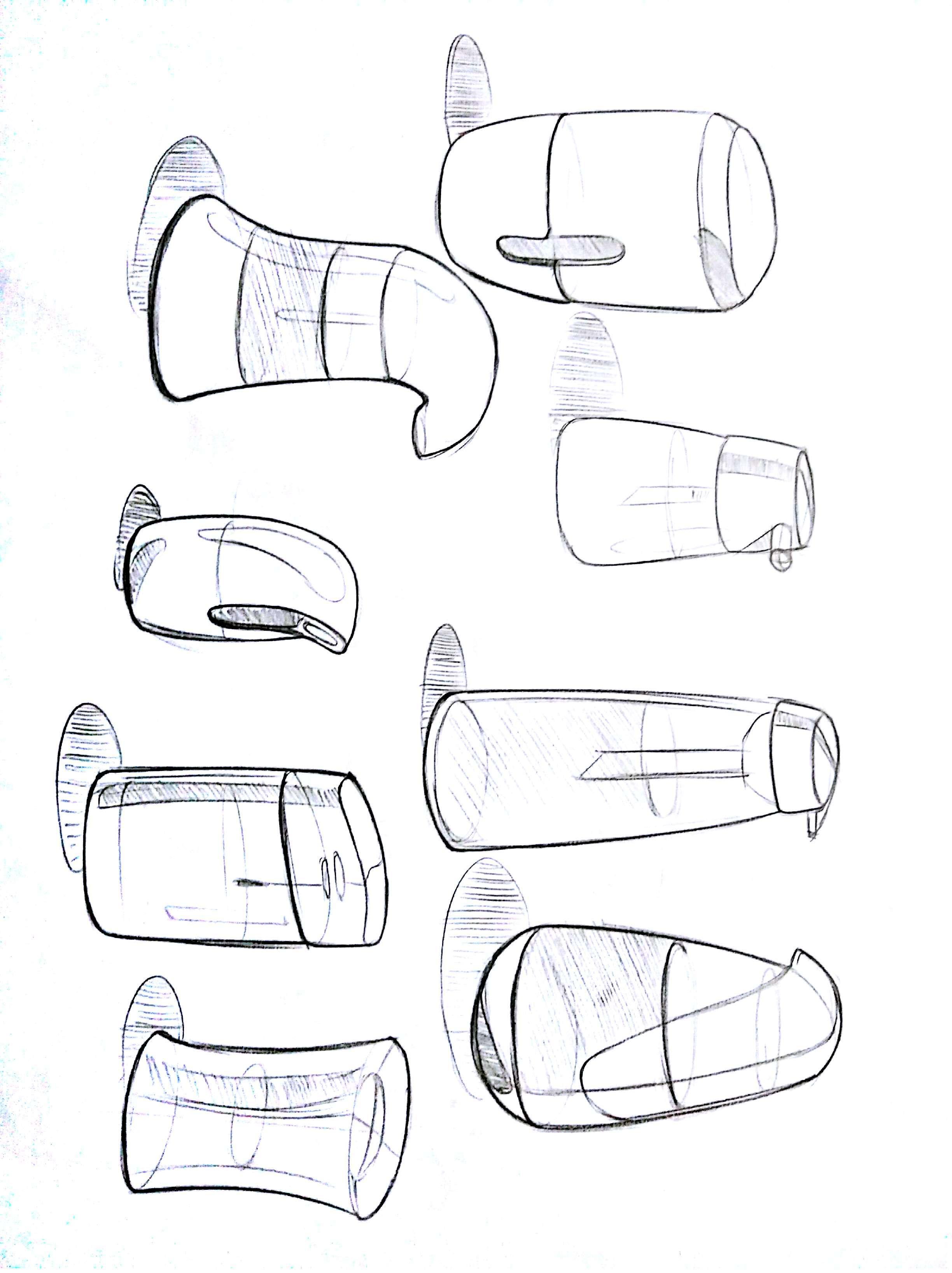 手绘集训-水瓶临摹写生 17.0