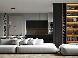 极简欧式公寓设计