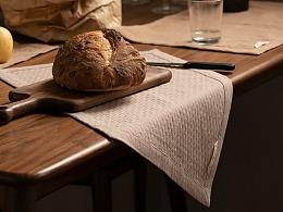 山隐造物|环纺全棉餐垫