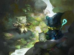 阿尔游记故事-吟游诗人蛙之托亚叙事第一篇章