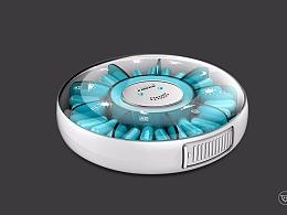 医疗产品设计_新款智能药盒设计